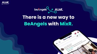 BeAngels choisit MixR pour héberger et développer son réseau d'investisseurs